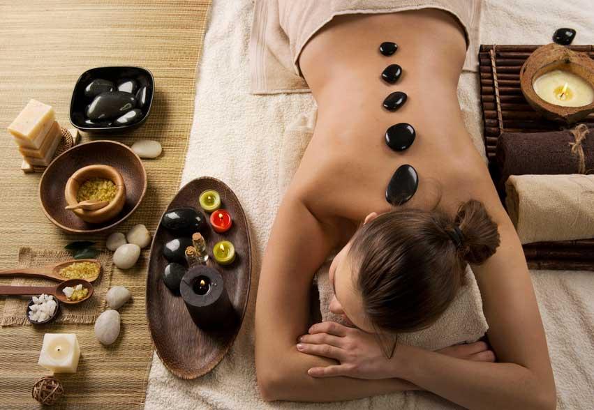 Hot Stone Massage at TLC Beauty Salon